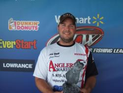 Co-angler Justin Kimmel of Athens, Ga., won the June 16 Bulldog event on Lake Oconee with a total weight of 10 pounds, 14 ounces. He took a check worth close to $2,000 for his efforts.