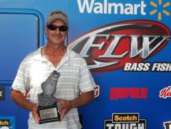 Co-angler Scott Sellers of Anderson, S.C., won the June 23 North Carolina Division event on High Rock Lake with a total catch of 14 pounds, 7 ounces. For his efforts, Sellers took home a check for over $1,800.