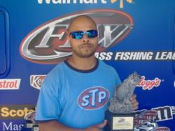 Co-angler Marvin Reese of Gwynn Oak, Md., won the June 23 Shenandoah Division event on the Potomac River with a total weight of 19 pounds, 8 ounces. For his efforts, Reese was awarded over $2,300 in prize money.