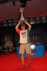With his third Angler of the Year title, David Dudley earned the distinction of FLW