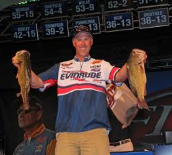 Changing his course and running down to Ticonderoga yielded the biggest sack of day three - 20-2 - for Andy Morgan.