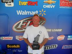 Co-angler Tony Grubb of Ann Arbor, Mich., won the July 14 Michigan Division event on the Detroit River with a total weight of 20 pounds, 14 ounces. Grubb earned nearly $1,600 in prize money for his efforts.