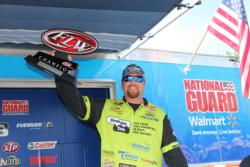 After leading on day one, JT Kenney dropped to ninth on day two, but stormed back for the win on day three.