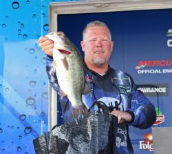 A swim jig and a Texas-rigged jig delivered most of Joseph Thompson