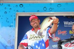 Ripping a swim jig through the grass of Ticonderoga was the key tactic for fifth-place pro Matt Greenblatt.