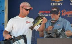 Local angler Dan McGarry finished the EverStart Series event in third place.