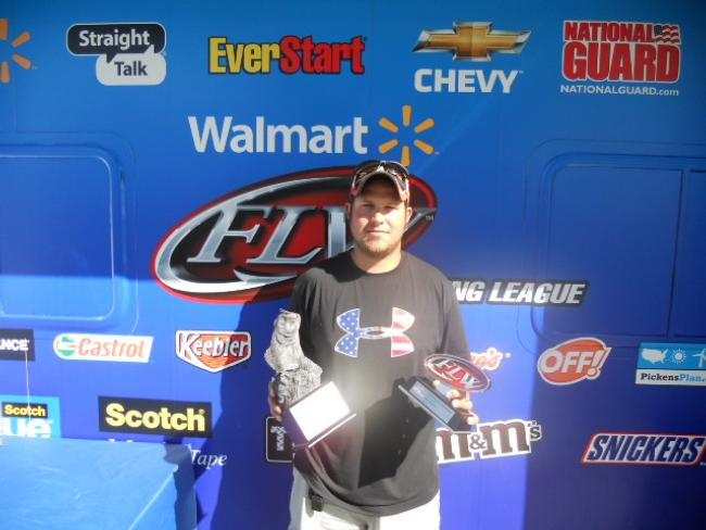 Flw fishing walmart bass fishing league 2012 detroit for How much are fishing license at walmart