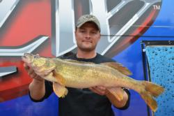 Ryan Dempsey of Oneida, Wis., brought 23 pounds, 8 ounces to the scale on day two, giving him an overall total of 51-7.