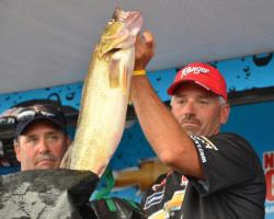 Ranger pro Ross Grothe of Northfield, Minn., ends the season with a fourth-place finish on Bays de Noc and a three-day total weight of 70 pounds, 7 ounces.