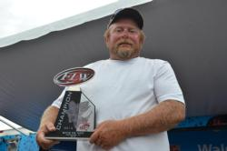 Co-angler William Bay of Berlin, Wis., won the first ever National Guard FLW Walleye Tour event that he has fished with a three-day total weight of 78 pounds, 7 ounces.