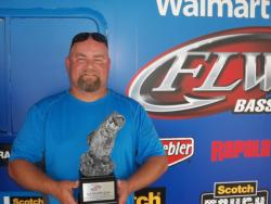 Co-angler Steve Sorrell of Beavercreek, Ohio, won the August 4 Buckeye Division event on the Ohio River with a four-fish limit of 5 pounds, 15 ounces. Sorrell earned himself over $1,900 in tournament winnings.