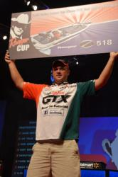 Castrol pro David Dudley walked away with the 2012 Ranger Cup award.
