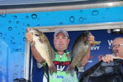 Fifth-place pro  Jason Ober declared the 1000 Islands his new favorite fishery.