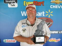 Co-angler Garry Kincaid of Martinsville, Ind., won the Aug. 18 Hoosier Division event on the Ohio River with a total weight of 7 pounds, 3 ounces. He received a check for over $1,500 for his efforts.