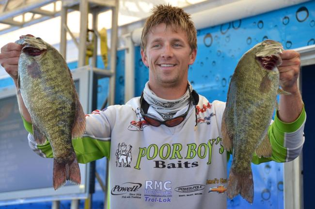 In his pro debut, Chad Pipkens ran south to Lake Erie and came back with 21 pounds, 11 ounces.