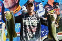 Co-angler Robert Wedding of Welcome, Md., finished the day in third place with a total catch of 23 pounds, 1 ounce.