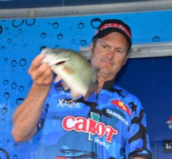 EverStart pro Jimmy Kennedy of Plainfield, Vt., finished the Potomac River event in fourth place.