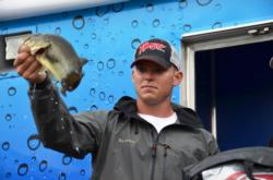 Although he started the day in the 10th and final qualifying position, pro Micah Frazier of Newnan, Ga., grabbed fifth place overall when all was said and done with a total catch of 37 pounds, 9 ounces.