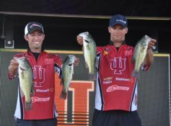 Dustin Vaal and Steven Bressler finish with a three-day total weight of 34 pounds, 7 ounces.