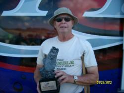 Co-angler Jim Krider of North Vernon, Ind., won the final event of the Hoosier Division season on the Ohio River with a two-day total weight of 11 pounds, 6 ounces. He earned over $2,400 in prize money for his efforts.