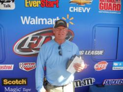 Co-angler George Boyce of Fuquay Varina, N.C., won the Piedmont Division event on Kerr Lake with a two-day total weight of 16 pounds, 12 ounces.