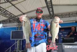 With another solid limit, Alabama pro Blake Nick is holding steady at second.