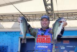 National Guard pro Brett Hite moved up from eighth place to fifth in the final round.