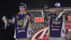The Tennessee Tech team of Joe Slagle and Matthew Clay sit in fifth place with 8 pounds, 13 ounces.