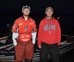 Travis McGuire and Tyler Holmes will represent Texas Tech University this week.