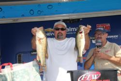 Ritter Ferguson caught several of his keepers off the same spot he fished on day one.