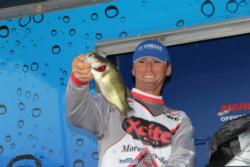 A prototype squarebill crankbait delivered several fish for  Brian Clark.