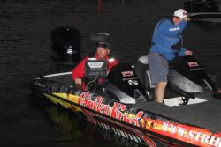 Strike King pro Phil Marks expects to find his better bites in deeper water.