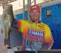 Nabbing a 7-pound, 5-ounce bass helped Keith Combs secure the fourth-place spot.