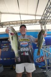 Flipping particular types of shoreline cover was the key for fifth-place pro Bill McDonald.