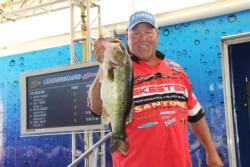 Catching a few early fish gave fifth-place Matt Herren the confidence to expand outward during his day.