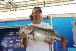 This 7-pound, 11-ounce largemouth gave Lamonte Lloyd the day-two Big Bass honors.