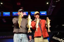 Todd Zemke of Red Wing, Minn., brought in a limit on day two that weighed 9 pounds, 4 ounces, and moved him to third.