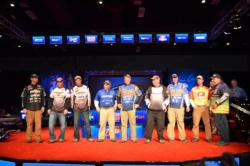The top-10 pros are ready to tackle the Mississippi River for one more day to crown a champion.