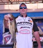 Lance Williams of Billings, Mo., is in fourth place with a two-day total of 17 pounds, 10 ounces.