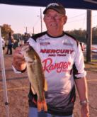 Larry Jones of Acworth, Ga., is in third place with a two-day total of 17 pounds, 12 ounces.