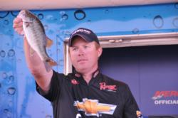 Casey Martin of New Market, Ala., rounded out the top five with a four-day total 31 pounds, 13 ounces.