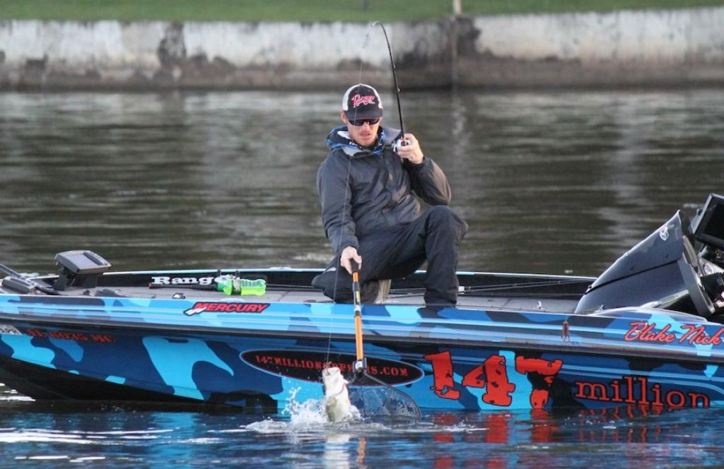 Warrior river giants nick s secret no more flw fishing for Walmart fishing boats