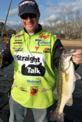 On windy, cloudy days, a finesse crankbait will usually outpeform a jerkbait.