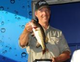 William Wood of West Palm Beach, Fla., finished second in the Co-angler Division with a three-day total of 37 pounds, 11 ounces worth $5,000.