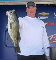Reaction baits were the ticket for top pro Dusty Schultz on Lake Amistad.