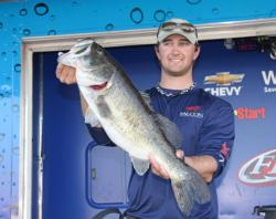 Seventh-place pro  Austin Terry took Big Bass honors with an 8-12.