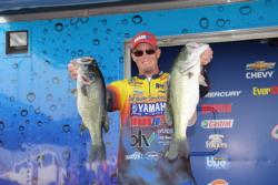 Fifth-place pro Keith Combs made a big move up from 15th on day two.