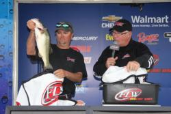 Two days of 20-plus pound stringers led  Lamonte Loyd to fourth place.