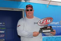 Co-angler winner Kevin Gressett benefited greatly from a huge day-one fish.