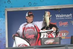 Dan Wilson took fourth place in the co-angler division.